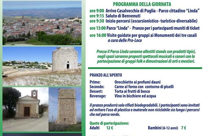 A Casalvecchio di Puglia la 'Festa della Montagna' promossa dal Club Alpino Italiano